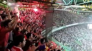 O lance polémico final com GOLO LETRA RAUL, grande apoio adeptos e agradecimento jogadores