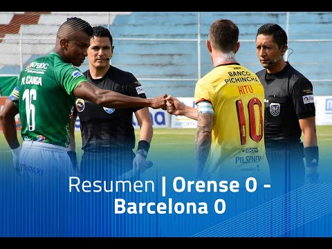 Orense Barcelona SC Goals And Highlights