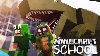 Minecraft School - THE GREAT DINOSAUR SECRET!
