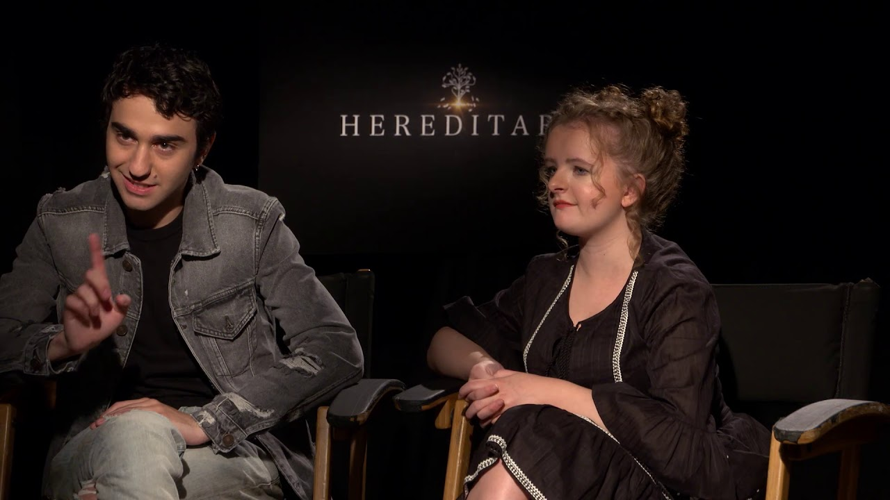 Alex Wolff And Milly Shapiro Of Hereditary Name Their Favorite Horror Films
