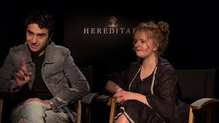 Alex Wolff and Milly Shapiro of 'Hereditary' Name Their Favorite Horror Films