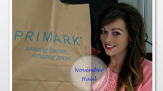 Primark Haul! - November 2014 Thumbnail