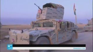 قوات البشمركة الكردية على أبواب بعشيقة