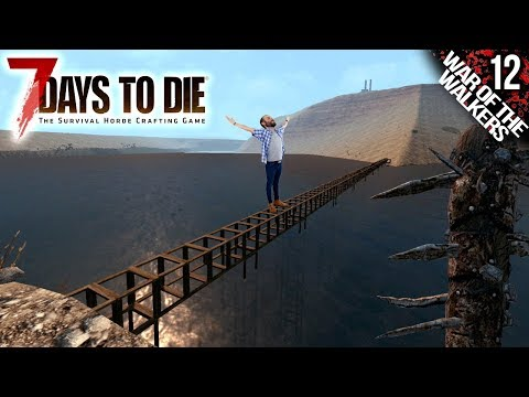 7 DAYS TO DIE M12 | HORDA Y PUENTE CASERO | Gameplay Español