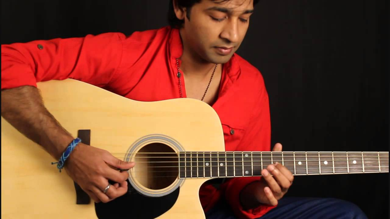 Jaadu Teri Nazar (intro) Guitar Lesson in Hindi for