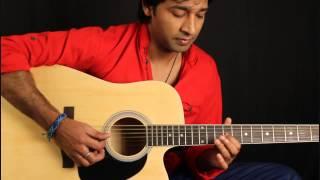 Jaadu Teri Nazar (intro) Guitar Lesson in Hindi for beginners By VEER KUMAR