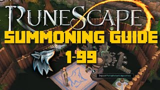 Runescape Training Guide: 1-99 Summoning Guide 2016 - Cheap - iAm Naveed Runescape 2016