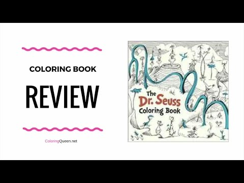 - Dr Seuss Coloring Book Review - YouTube