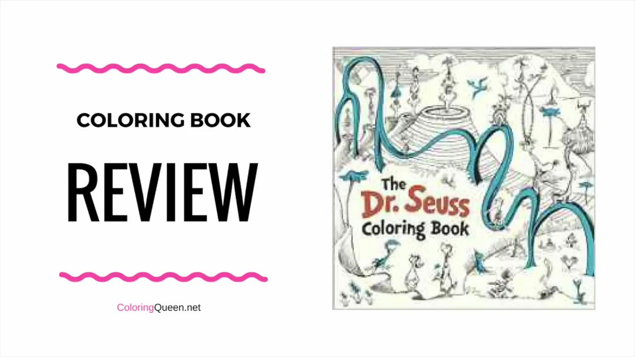 Dr Seuss Coloring Book Review - YouTube