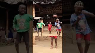 African Dancing  for Telugu song