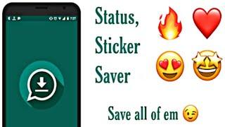 Status Saver Downloader for WhatsApp Android 2021 screenshot 1
