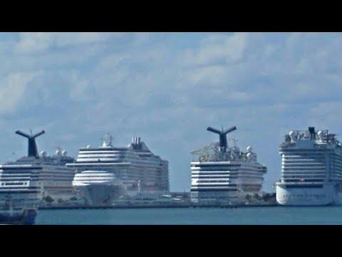 MSC Divina Caribbean Cruise, Miami, Antigua, St Thomas U.S.Virgin Islands & Nassau Bahamas post Irma