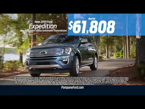Discover the 2019 Ford Expedition