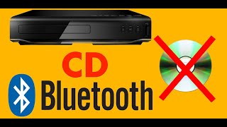How to Convert CD player into bluetooth speaker