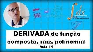 Grings - Derivada de função composta, raiz, polinomial  - Aula 14 thumbnail