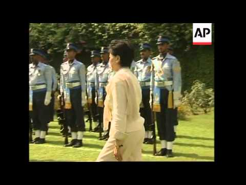 Pakistani and Japanese defence ministers' meeting