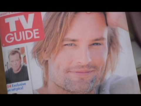 TV Guide Letter Theater  Josh Holloway
