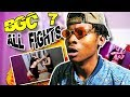 THIS MAY BE THE BLOODIEST SEASON! BGC7 - All Fights ( UNEDITED ) REACTION