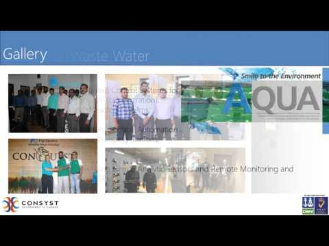 CONSYST SOLUTIONS FOR WATER & WASTE WATER INDUSTRY