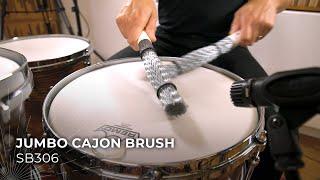 MEINL Stick & Brush Jumbo Cajon Brush SB306