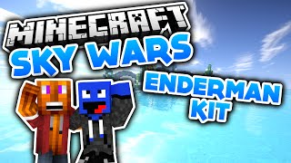 Das Enderman Kit ist OP! - Minecraft SkyWars (Deutsch/German)