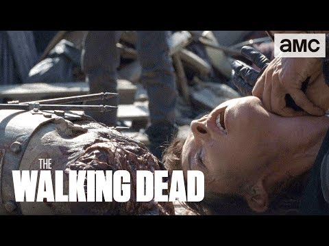 'Rick vs Jadis & the Scavengers' Talked About Scene Ep. 807 | The Walking Dead