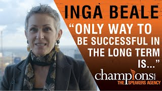 Inga Beale on the Power of Inclusion   1st Female CEO of Lloyds of London
