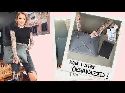 HOW I STAY ORGANIZED | self employed/ working from home