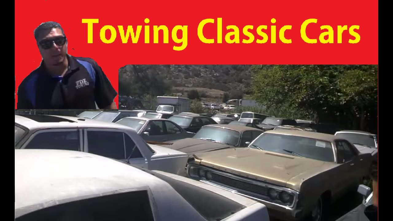Lincoln Town Car Tow Truck ~ Classic Car BTS Video Mopar Project ...