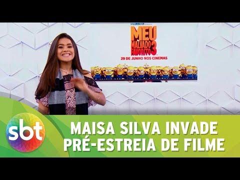MAISA SILVA INVADE PRÉ-ESTREIA DE MEU MALVADO FAVORITO 3