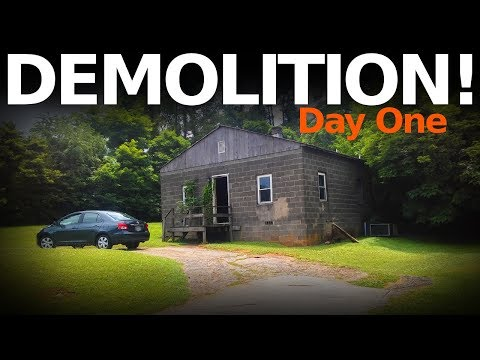 $12,000 House - DEMOLITION DAY ONE!!!! - Full Renovation - #