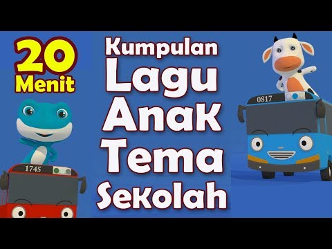 Kumpulan Lagu Anak PAUD 20 Menit - Kompilasi Lagu Anak PAUD TK Terbaru 2019 - Tema Sekolah