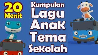 Download Kumpulan Lagu Anak PAUD 20 Menit - Kompilasi Lagu Anak PAUD TK Terbaru 2021 - Tema Sekolah