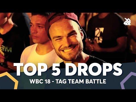TOP 5 DROPS 😱 WBC Tag Team Battle 2018