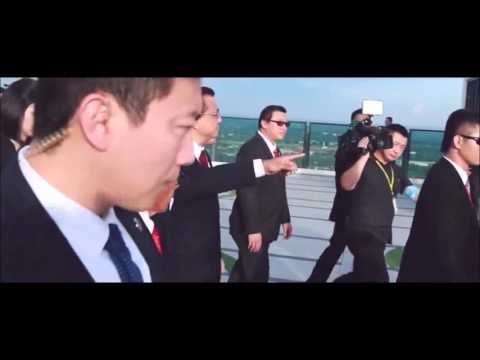 Premier of Republic People's of China His Excellency Li KeQiang visiting The Shore