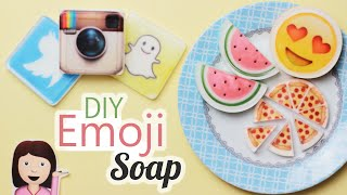DIY: Emoji Soap - Easy! How to Melt & Pour Soap using Pictures - Customize your Soap!