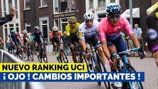Nuevo Ranking UCI - EGAN BERNAL el mejor Ciclista Latinoamericano