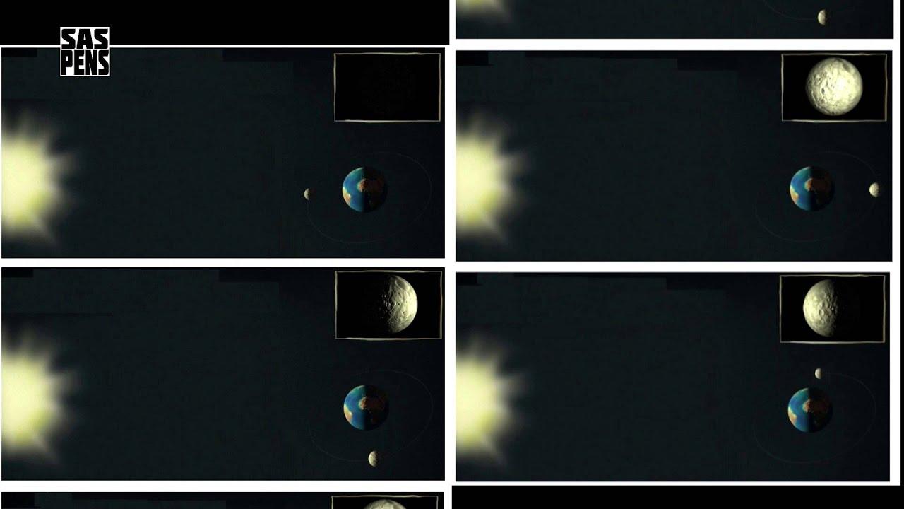 Почему Луна Светит