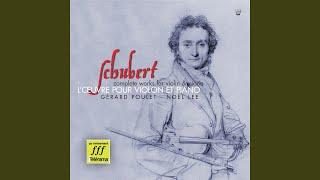 Fantaisie en ut majeur, opus posthume 159, D 934: Allegro vivace presto
