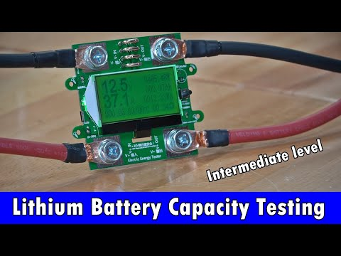 Lithium Battery Capacity Testing (Intermediate Level): Shunts, Hall Effect Sensors And More!
