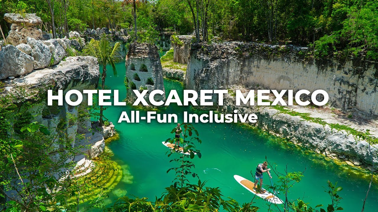 Hotel Xcaret Mexico: Watch one-month in the All-Fun Inclusive Paradise | Cancun.com - YouTube
