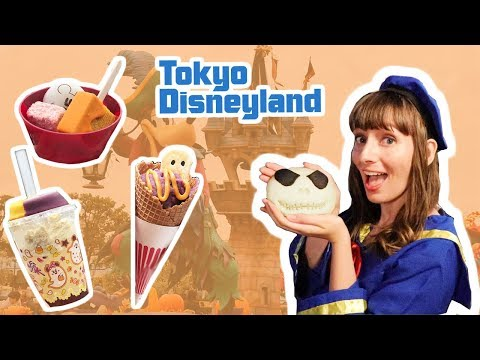 Eating All The Food At Tokyo Disneyland For Halloween
