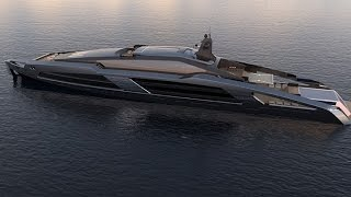Aqueous 120 yacht concept by Facheris Design