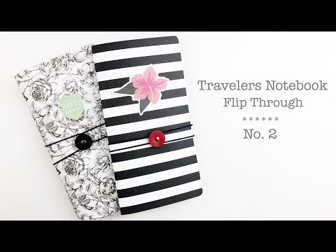 Travelers Notebook Flip Through | No.2