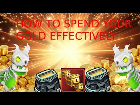 How To Spend LESS GOLD In Arcane Legends?