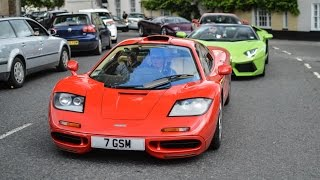 RARE McLaren F1 in red, revs and driving!!