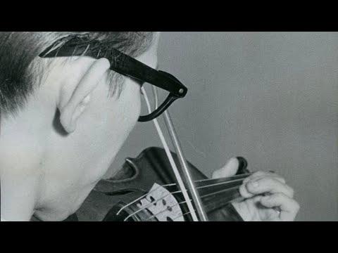 4th International Henryk Wieniawski Violin Competition 1962 - 'The First American'