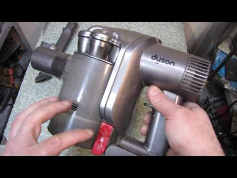 Разобрать пылесос dyson dc45 аккумуляторный пылесос дайсон видео
