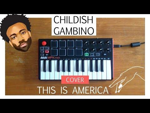 Childish Gambino - This is america  | Instrumental + Lyrics