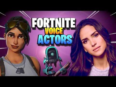 7 FORTNITE VOICE ACTORS in Save the World in REAL LIFE